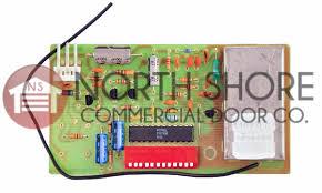 s garage door opener 12 dip switch internal receiver board 25648r