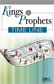 Chart Of Kings Of Israel And Judah With Prophets Kings Prophets Timeline Pamphlet Rose Publishing