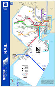 Phoenix Light Rail Stops Map The Rail Map Of New Jersey 1663x2614 Map System Map