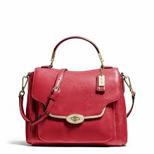 Coach Madison Small Sadie Flap Satchel In Leather Light Black Violet, Coach,