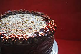 Decorated German Chocolate Cake Piccante Dolce German Chocolate Cake