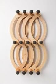 Metal Accordion Coat Rack Wall Peg Hook Expandable Wood Accordion Wall Hooks In by KimBuilt 31