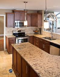 Granite Countertops And Backsplash Pictures Concept