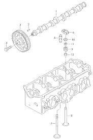 2007 volkswagen golf plus europe market engine camshaft valves 1 6 rh oemepc 1600cc vw engine diagram 1967 vw engine diagram