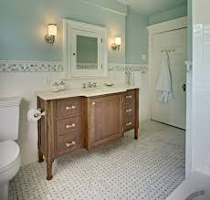 Amish Medicine Cabinet Gorgeous Palladian Blue Convention New York Traditional Bathroom