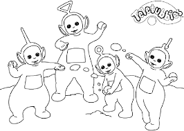 Small Picture Teletubbies Coloring Pages To Print 19494 Bestofcoloringcom