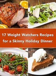 holiday dinner 17 weight watchers recipes for a skinny holiday dinner