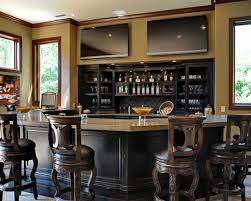 ... Plenty of natural ventilation greet this gracefully designed home bar