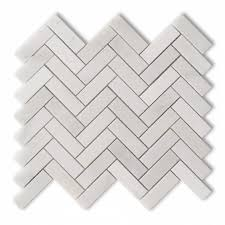 allen roth genuine stone white marble mosaic natural stone throughout lovely marble tile