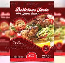 Flyer Design Food Flyer Design Food Brochure Templates Menu Ffshop Inspiration