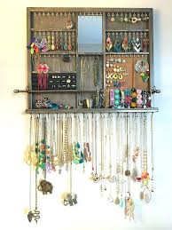 homemade jewelry storage best jewelry storage ideas on necklace storage  necklace holder and necklace hanger homemade