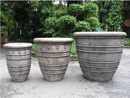 fs001 set 3 bali planter