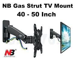50 inch tv wall bracket brackets bush argos to gas strut end 6 20 am