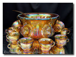 Carnival Glass Patterns Simple Collecting Carnival Glass History Colours Patterns