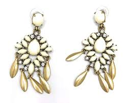 stella dot mallforca chandelier earrings