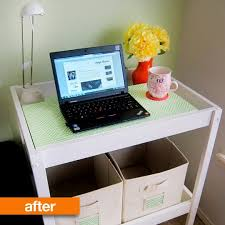 originally looking for a small storage solution my diaper bag and keys because our house lacks mudroom or entry space husband i ended up office desk at ikea s25 office