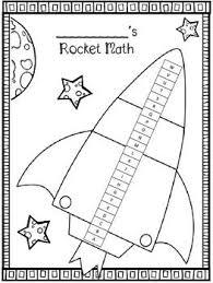 Rocket Math Chart Rocket Math Score Tracking Sheets Second Grade Math