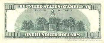 Интересные факты о деньгах На купюре 100 долларов изображена пирамида