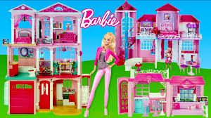 barbie dreamhouse 2016 toys video pilation thechildhoodlife kids and toys you