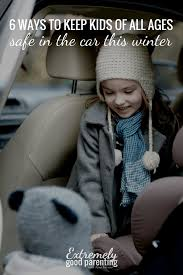ways to keep children safe in the car this winter thick coat alternatives that allow
