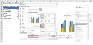 Excel Clustered And Stacked Column On Same Chart Create A Clustered And Stacked Column Chart In Excel Easy