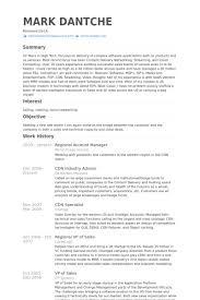 Manager Resume Sample Regional Samples Expert Visualize Example
