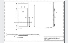 pvc door pvc door detail dwg 47583
