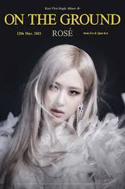 ROSÉ - 'On The Ground' TITLE POSTER - Pantip