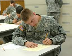 best warrior competition day written exam and graded essay  staff sgt shayne cherry representing u s special operations command works on the