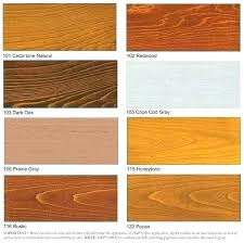 Sikkens Deck Stain Color Chart Androidmoddedapk Co