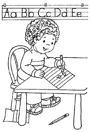 Small Picture Kindergarten School Coloring Pages