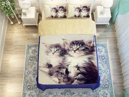 whole maine cat bedding set for boys childrens home decor full queen size bed linens comforter duvet covers 4 bedclothes blue bedding sets queen