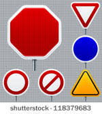 blank road signs test.  Test Intended Blank Road Signs Test P