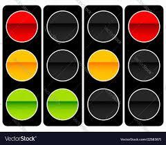 Stop Light Lamp Traffic Light Traffic Lamp Icon In Set Semaphore