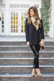 faux leather leggings winter date night outfit 131
