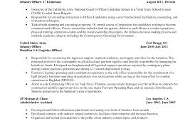 Magnificent Army Sergeant Resume Examples Pictures Inspiration