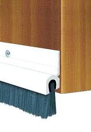 door brush seal door brush garage door stopper add a door stop to your interior roller door brush seal