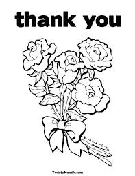 Thank You Coloring Pages Coloring Thank You Cards Thank You Coloring