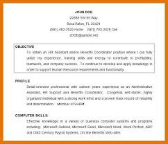 How To Write Objectives For Resume 9 10 Perfect Objective For Resume Examples