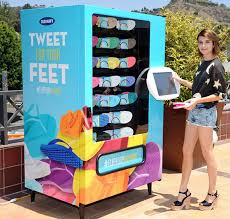 Build A Vending Machine Inspiration Flip Flop Vending Machines Shoe Vending Machine