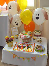 Dog Birthday Decorations Id Mommy Puppy Themed Birthday Party Doggie Party Pinterest