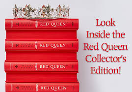 get an electrifying look inside the red queen collector s edition