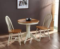 kitchen table and chairs drop leaf french style dinning room tables acrylic armless chairs white leather