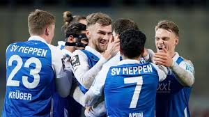 You are on page where you can compare teams meppen vs hallescher fc before start the match. Ticker Zum Nachlesen 2 1 Sv Meppen Schlagt Angstgegner Halle