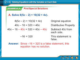 12 example 3 find special solutions