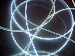 3mm side glow fibre cable