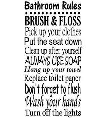 Cheap Bathroom Decal Quotes, find Bathroom Decal Quotes deals on ...