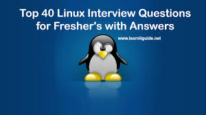 scenario based linux interview questions answers top 40 linux interview questions for freshers answers
