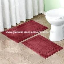 toilet rugs china cut loop long flat high low pile solid color plain bath rugs bathroom