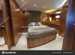 Italien Viareggio 82 Luxus Yacht Gäste Schlafzimmer Stockfoto